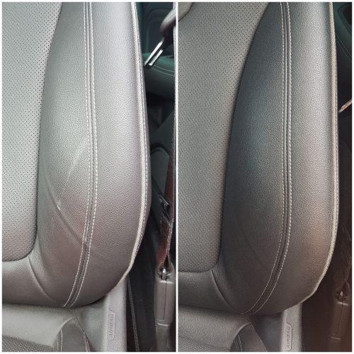 Neuwagen Blessuren im Fahrersitz – Lederaufbereitung